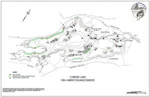 Christie Lake Fishsticks map 2015